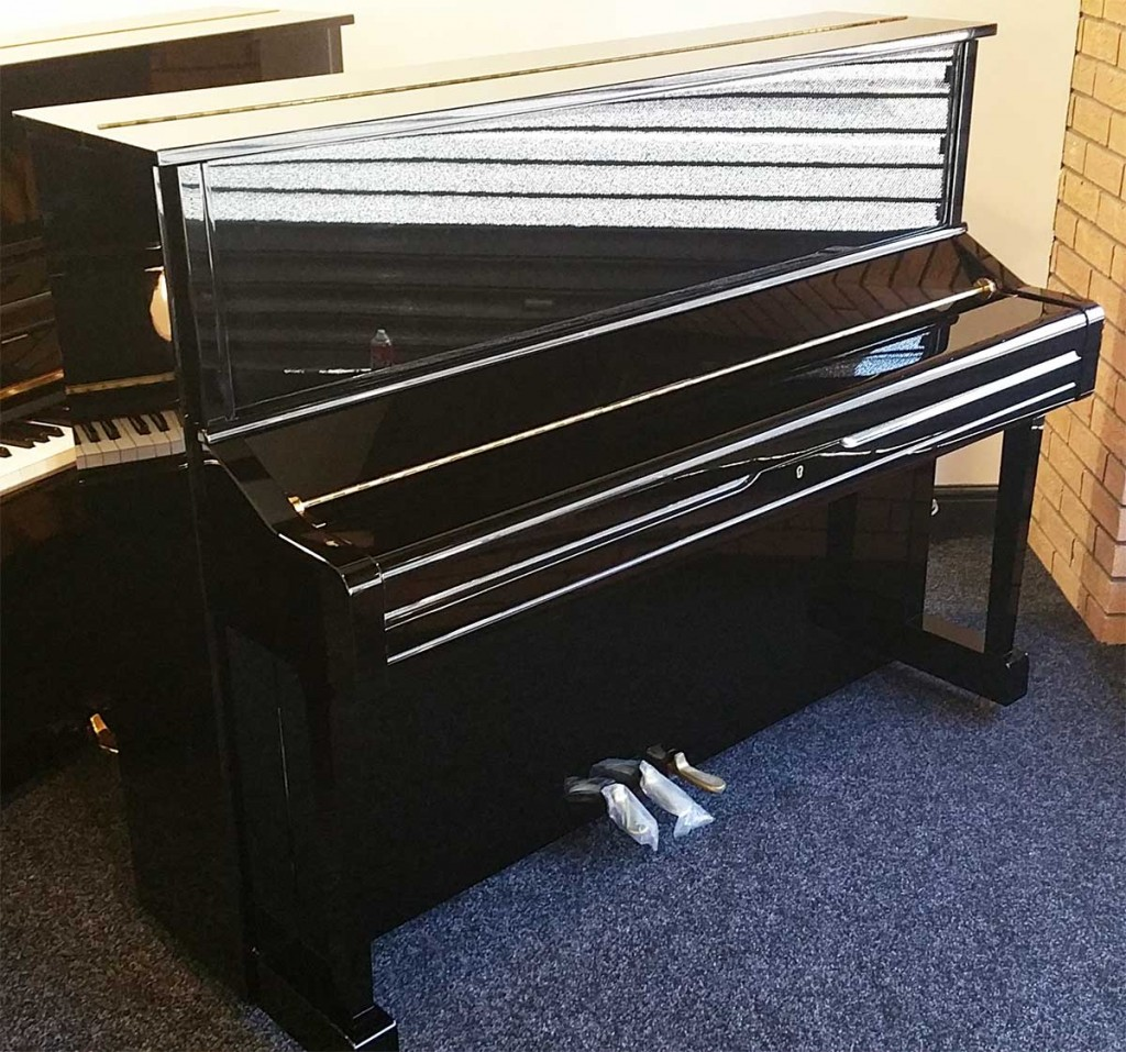 Buckley pianos for Yamaha upright piano cover